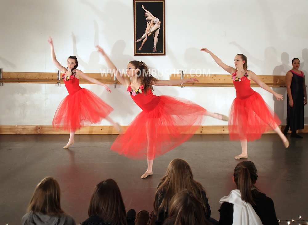 Pine Bush, New York - Dancers perform at the Mitchell Performing Arts Center during the Pine Bush Festival of Lights on Dec. 4, 2010.