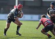 Pontypridd Will Davies King<br /> Photographer Mike Jones/Replay Images<br /> <br /> Aberavon RFC v Pontypridd RFC <br /> Principality Premiership<br /> Saturday 14th April 2018<br /> Talbot Athletic Ground<br /> <br /> World Copyright © Replay Images . All rights reserved. info@replayimages.co.uk - http://replayimages.co.uk