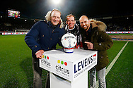 21-11-2015 VOETBAL:WILLEM II-PSV:TILBURG<br /> Wedstrijdbal sponsor Citrus Software<br /> <br /> Foto: Geert van Erven