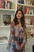 ALIONA ADRIANOVA, Party given by Basia Briggs and Richard Briggs at their home in Chelsea. London. 14 May 2012