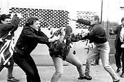 Fighting in Brick Lane, East London, 19/09/1993