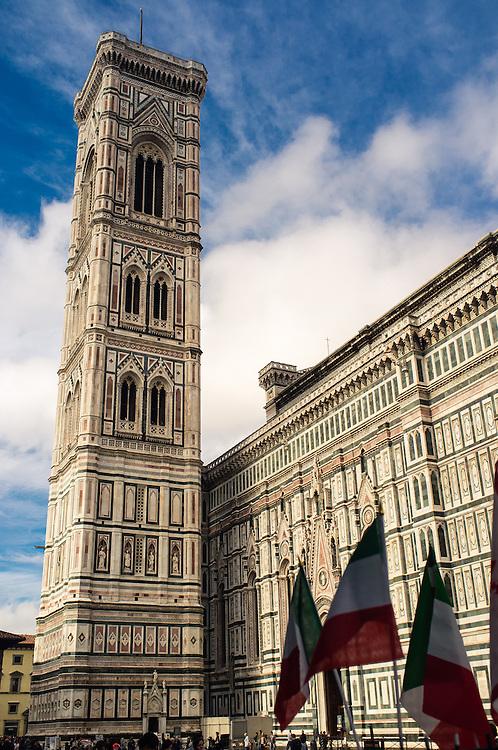 The Basilica di Santa Maria del Fiore, or Duomo, in Florence, Italy