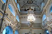 Schlosskirche, Schloss Wilhelmsburg, Schmalkalden, Thüringen, Deutschland.|.chapel, Schloss Wilhelmsburg, Schmalkalden, Thuringia, Germany