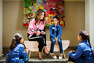 Queen Rania Visit Family & Child Center