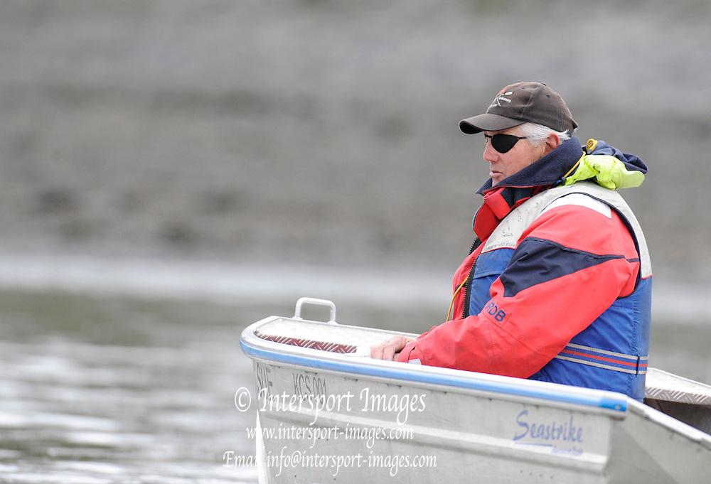 Putney, London, CUBC Cheif Coach Chris NILSSON  Varsity, University Boat Race, Tideway Week, Tuesday  30/03/2010 [Mandatory Credit Peter Spurrier/ Intersport Images]