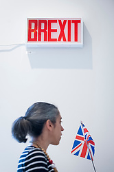 """© Licensed to London News Pictures. 05/06/2018. LONDON, UK. """"Another Fine Mess You've Got Us Into"""" by Guy Morris at a preview of the 250th Summer Exhibition at the Royal Academy of Arts in Piccadilly, which has been co-ordinated by Grayson Perry RA this year.  Running concurrently, is The Great Spectacle, featuring highlights from the past 250 years.  Both shows run 12 June to 19 August 2018.  Photo credit: Stephen Chung/LNP"""
