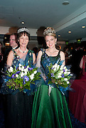 IONA DUCHESS OF ARGYLL; LADY DALMENY;  The Royal Caledonian Ball 2010. Grosvenor House. Park Lane. London. 30 April 2010 *** Local Caption *** -DO NOT ARCHIVE-© Copyright Photograph by Dafydd Jones. 248 Clapham Rd. London SW9 0PZ. Tel 0207 820 0771. www.dafjones.com.<br /> IONA DUCHESS OF ARGYLL; LADY DALMENY;  The Royal Caledonian Ball 2010. Grosvenor House. Park Lane. London. 30 April 2010