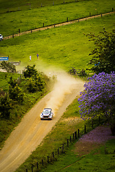 November 18, 2017 - New South Wales, Australia - Elfyn Evans (GBR) and co-driver Daniel Barrit (GBR) of M-Sport compete in the Argents section on day two of the Rally Australia round of the 2017 FIA World Rally Championship in Australia. (Credit Image: © Hugh Peterswald/Pacific Press via ZUMA Wire)