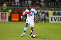 FOOTBALL - FRENCH CHAMPIONSHIP 2011/2012 - L1 - OLYMPIQUE LYONNAIS v OLYMPIQUE MARSEILLE - 18/09/2011 - PHOTO PHILIPPE LAURENSON / DPPI - MOUHAMADOU DABO (OL)