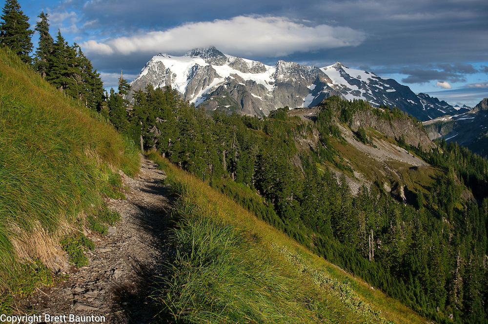 Mt. Baker Wilderness Area, Ptarmigan Ridge Trail, Mt. Shuksan