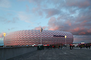 The Allianz Arena stadium prior the Champions League round of 16, leg 2 of 2 match between Bayern Munich and Liverpool at the Allianz Arena stadium, Munich, Germany on 13 March 2019.