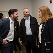 16.08. 2017.                                                      <br /> Johnson & Johnson and the University of Limerick WiSTEM Programme. <br /> Pictured at the event were, Alan Ross, Tim Vanherck and Liz Keane. Picture: Alan Place