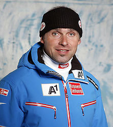 20.10.2012, Messehalle, Innsbruck, AUT, OeSV, Ski Alpin, Fototermin, im Bild Wolfgang Grabner (OeSV Trainer Ski Alpin) // during the official Portrait and Teamshooting of the Austrian Ski Federation (OeSV) at the Messehalle, Innsbruck, Austria on 2012/10/20. EXPA Pictures © 2012, PhotoCredit: EXPA/ OeSV/ Erich Spiess