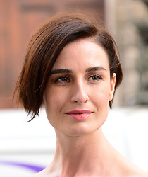 The Face TV press launch.<br /> In the image - Erin O'Connor.<br /> Naomi Campbell, Caroline Winberg, Erin O'Connor judges of new Sky Living modelling competition attend drinks reception and screening of new series. Royal Opera House, London, United Kingdom. Thursday, 26th September 2013. Picture by Nils Jorgensen / i-Images