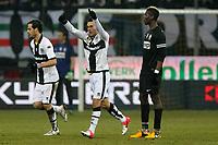 "Esultanza Nicola Sansone Parma.goal celebration.Parma 13/01/2013 Stadio ""Tardini"".Football Calcio Serie A 2012/13.Parma v Juventus.Foto Insidefoto Paolo Nucci."
