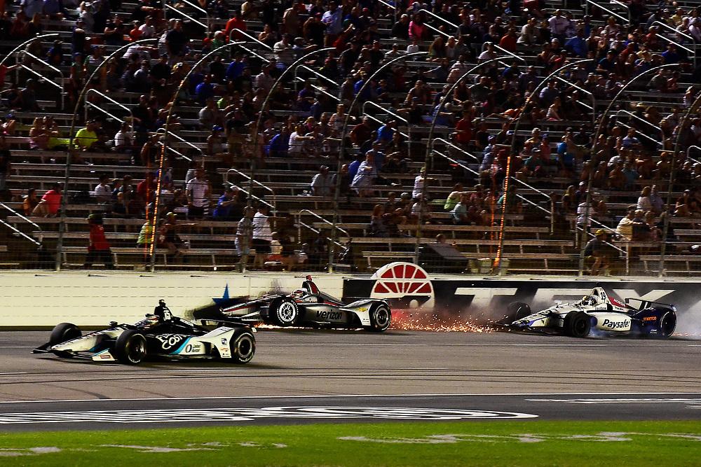 Will Power, Team Penske Chevrolet crash