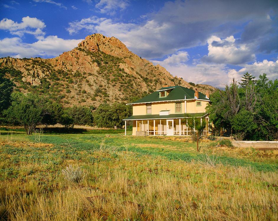 0103-1030 ~ Copyright:  George H. H. Huey ~ Historic Faraway Ranch. Chiricahua National Monument. Arizona.