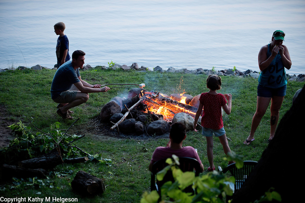 Fourth of July 2013 at Lake Beebe<br /> photo by Kathy M Helgeson
