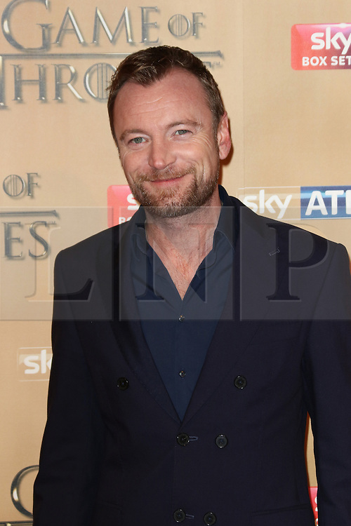 © Licensed to London News Pictures. 18/03/2015, UK. Ian Richard Dormer (Beric Dondarrion),, Game of Thrones - Series Five World Premiere, Tower of London, London UK, 18 March 2015. Photo credit : Richard Goldschmidt/Piqtured/LNP