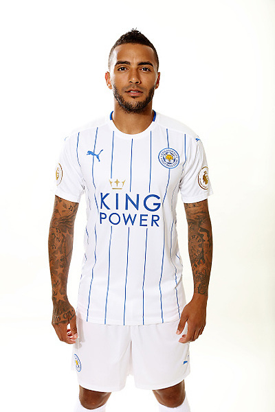 LEICESTER, ENGLAND - JULY 21:  Danny Simpson during Leicester City Official Portraits at Belvoir Drive Training Complex on July 21 , 2016 in Leicester, United Kingdom.  (Photo by Plumb Images/Leicester City FC via Getty Images)