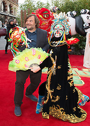 Jack Black attends the European Premiere of 'Kung Fu Panda 3' at the Odeon Leicester Square in London, England. 6th March 2016. EXPA Pictures © 2016, PhotoCredit: EXPA/ Photoshot/ James Warren<br /> <br /> *****ATTENTION - for AUT, SLO, CRO, SRB, BIH, MAZ, SUI only*****