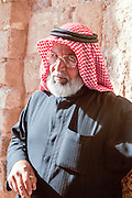 Portrait of a mature Jordanian Man