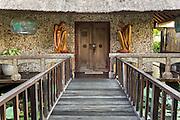 Entrance to Puri Le Mayeur Suite.