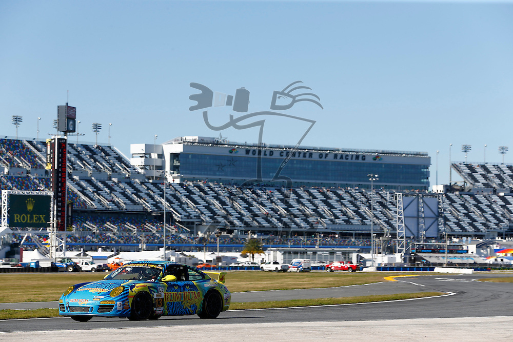Daytona Beach, FL - Jan 29, 2016:  The Continental Tire Sports Car Challenge teams take to the track on Continental tires for a practice session for the BMW Performance 200 at Daytona International Speedway in Daytona Beach, FL.