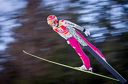 13.12.2013, Nordische Arena, Ramsau, AUT, FIS Nordische Kombination Weltcup, Skisprung, provisorischer Wettkampfdurchgang, im Bild Eric Frenzel (GER) // Eric Frenzel (GER) during Ski Jumping PCR Round of <br /> FIS Nordic Combined World Cup, at the Nordic Arena in Ramsau, Austria on 2013/12/13. EXPA Pictures © 2013, EXPA/ JFK