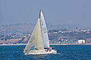 Sailing Off The Coast Of Dana Point