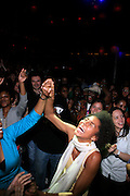 Ayo at Ayo produced by Jill Newman Productions held at Hiro Ballroom on Monday, April 14, 2008..Ayo has become a big name in Europe on the strength of her debut album, ?Joyful,? and its hit single, ?Down on My Knees.? Her sound combines a host of different eclectic musical styles that originate from her varied background as a German-born daughter of a Nigerian father and a Romanian gypsy mother.