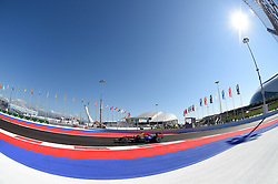 10.10.2014, Sochi Autodrom, Sotschi, RUS, FIA, Formel 1, Grosser Preis von Russland, Training, im Bild Sebastian Vettel (GER) Red Bull Racing RB10. // during the Practice of the FIA Formula 1 Russia Grand Prix at the Sochi Autodrom in Sotschi, Russia on 2014/10/10. EXPA Pictures © 2014, PhotoCredit: EXPA/ Sutton Images<br /> <br /> *****ATTENTION - for AUT, SLO, CRO, SRB, BIH, MAZ only*****