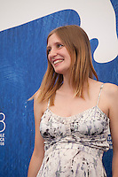 Actress Lucie Debay at the King Of The Belgians film photocall at the 73rd Venice Film Festival, Sala Grande on Saturday September 3rd 2016, Venice Lido, Italy. Photography: Doreen Kennedy