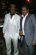 l to r: Andrew Dosunmu and Marc Baptiste at The 2008 Urbanworld Film Festival and BET Networks Afterparty saluting Fashion & Film at Espace on September 13, 2008