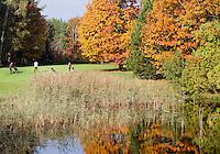 VELDHOVEN -  Hole Yellow 2. Golfbaan Gendersteyn Burggolf.  COPYRIGHT KOEN SUYK