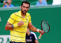 April 18, 2018 - Monaco - Tennis - Monaco - Marin Cilic Croatie (Credit Image: © Panoramic via ZUMA Press)