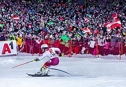 "29.01.2019, Planai, Schladming, AUT, FIS Weltcup Ski Alpin, Slalom, Herren, 2. Lauf, im Bild Albert Popov (BUL) // Albert Popov of Bulgaria in action during his 2nd run of men's Slalom ""the Nightrace"" of FIS ski alpine world cup at the Planai in Schladming, Austria on 2019/01/29. EXPA Pictures © 2019, PhotoCredit: EXPA/ Stefanie Oberhauser"