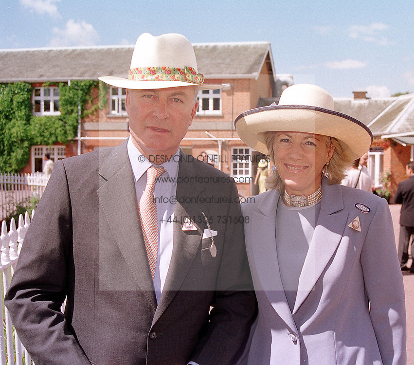 MR & MRS RICHARD HAMBRO members of the banking family, at a luncheon in London on 29th July 2000.OGM 49