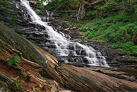 Waterfall at Ricketts Glen State Park.