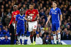 Luis Antonio Valencia of Manchester United looks frustrated - Rogan Thomson/JMP - 13/03/2017 - FOOTBALL - Stamford Bridge - London, England - Chelsea v Manchester United - FA Cup Quarter Final..