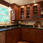 WILMINGTON, DE - AUGUST 8, 2016: The caterer's kitchen on the first floor is perfect staging area when entertaining groups large and small. 19 Crestfield Road, Wilmington, DE. Credit: Albert Yee for The New York Times