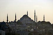 Turkije, Istanbul, 4-6-2011De Suleyman moskee, grootste van de stad.Foto: Flip Franssen