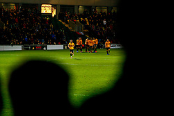 Dan Butler of Newport County celebrates scoring his sides fourth goal of the game  - Mandatory by-line: Ryan Hiscott/JMP - 11/12/2018 - FOOTBALL - Rodney Parade - Newport, Wales - Newport County v Wrexham - Emirates FA Cup second round proper