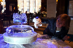 02.01.2015, Hotel Westin, Zagreb, CRO, FIS Weltcup Ski Alpin, Zagreb, Damen, Slalom, Vorberichte, im Bild Krone aus Glas als Snow Queen Trophäe // a crown of glas as snow queen trophy during the preperation for the Ladie's Slalom of Snow Queen Trophy 2015 of the FIS Ski Alpine World Cup at the Hotel Westin in Zagreb, Croatia on 2015/01/02. EXPA Pictures © 2015, PhotoCredit: EXPA/ Pixsell/ Dalibor Urukalovic<br /> <br /> *****ATTENTION - for AUT, SLO, SUI, SWE, ITA, FRA only*****