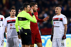 December 16, 2017 - Rome, Italy - Damato referee waiting for the Var system decision during the Italian Serie A football match Roma vs Cagliari, on December 16, 2017 at the Olimpico stadium in Rome. (Credit Image: © Matteo Ciambelli/NurPhoto via ZUMA Press)