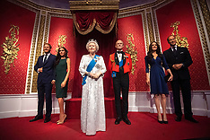 Madame Tussauds London moved its figures of the couple from its Royal Family set - 9 Jan 2020