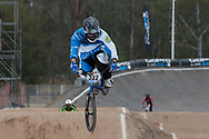 #322 (PIZARRO Ernesto) ARG at the 2014 UCI BMX Supercross World Cup in Santiago Del Estero, Argentina.