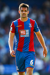 Scott Dann of Crystal Palace - Mandatory byline: Jason Brown/JMP - 07966386802 - 22/08/2015 - FOOTBALL - London - Selhurst Park - Crystal Palace v Aston Villa - Barclays Premier League
