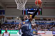 Dominique Sutton<br /> Dolomiti Energia Aquila Basket Trento - Consultinvest Victoria Libertas Pesaro<br /> Lega Basket Serie A 2016/2017<br /> Trento, 26/03/2017<br /> Foto M. Ceretti / Ciamillo - Castoria