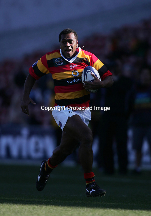 Sitiveni Sivivatu during the NPC Division One match between Auckland and Waikato at Waikato Stadium, Hamilton, New Zealand on Saturday, 28 August, 2004.<br />